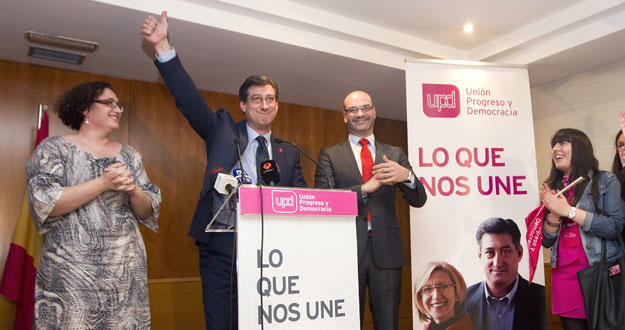 EL CANDIDATO DE UPYD A LA PRESIDENCIA DEL GOBIERNO DE ASTURIAS, IGNACIO PRENDES