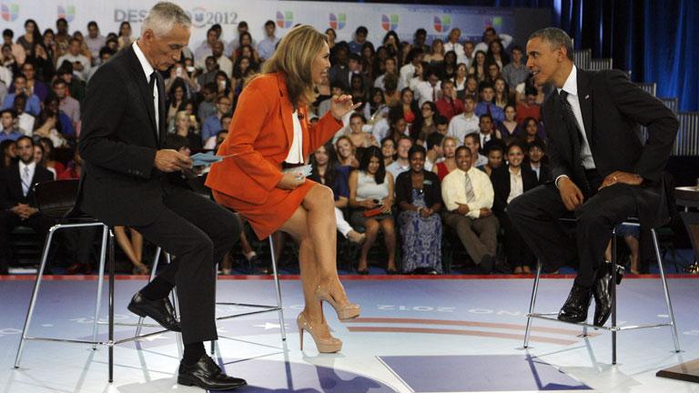 Los candidatos a la presidencia de EE.UU. intentan ganarse al electorado hispano