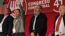 Ir al Video Cándido Méndez, reelegido secretario general de UGT
