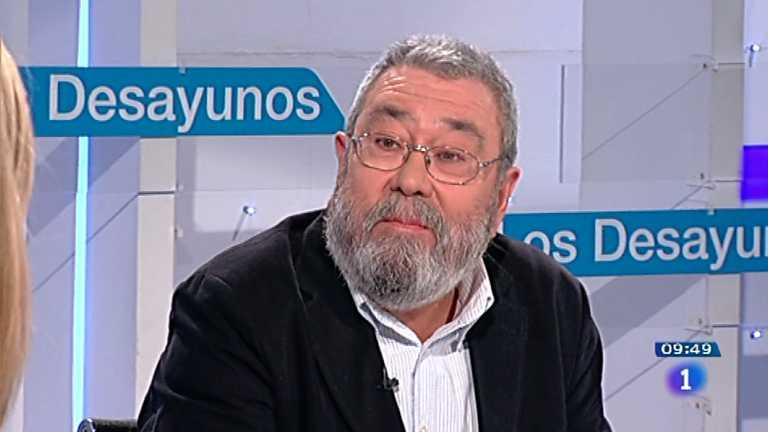 Los desayunos de TVE - Cándido Méndez, secretario general de UGT