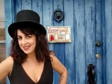 La cantante Amparo Sánchez
