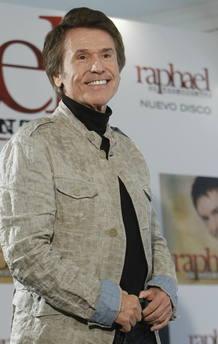 El cantante Raphael en la presentación de 'El reencuentro'.