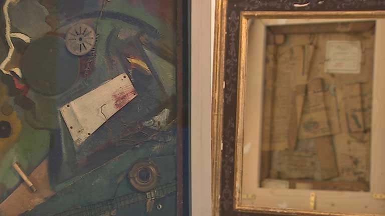 La cara B de algunas obras del Museo Thyssen