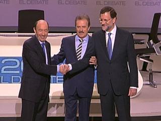 Ver vídeo  'Cara a cara Rubalcaba-Rajoy'