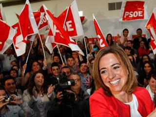 """Ver vídeo  'Carme Chacón: """"Lo peor que podría pasarle al PSOE es el inmovilismo""""'"""