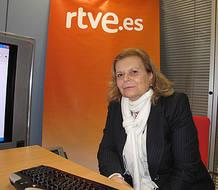 Carme Riera en los encuentros digitales de RTVE.es