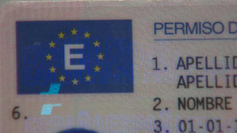 Carné de conducir europeo