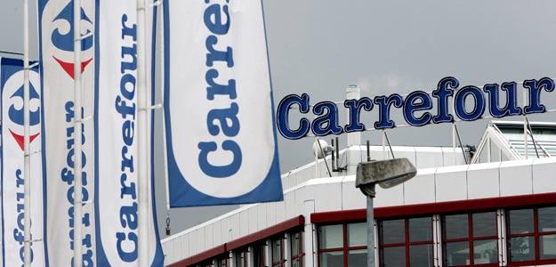 Un Carrefour a las afueras de Zurich