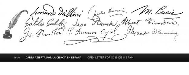 La carta abierta será entregada junto con los nombres de los firmantes, a Rajoy y a los miembros del Congreso y el Senado.