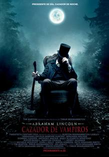 Cartel de 'Abraham Lincoln: Cazador de vampiros'