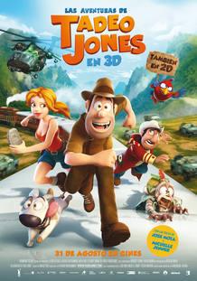 Cartel de 'Las aventuras deTadeo Jones'