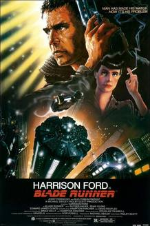 El cartel de 'Blade Runner', de Ridley Scott