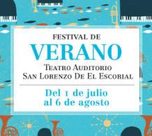Cartel del Festival de Verano de San Lorenzo de El Escorial