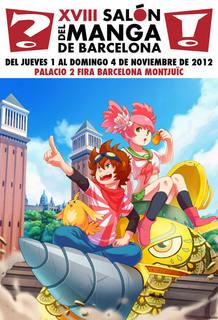 Cartel del XVIII Salón del Manga de Barcelona, de Susana Broullón