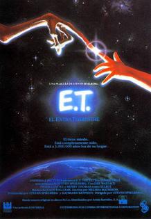 Cartel de 'ET, el extraterrestre'