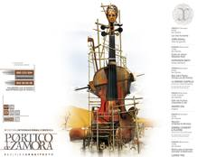 Cartel del Festival P&oacute;rtico de Zamora