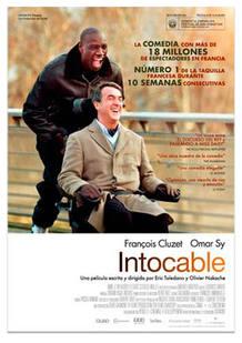 Cartel de 'Intocable', de Olivier Nakache y Eric Toledano