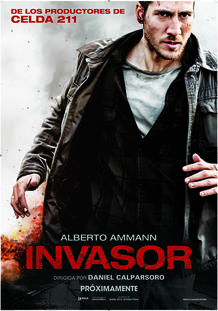 Cartel de 'Invasor', un thriller de Daniel Calparsoro