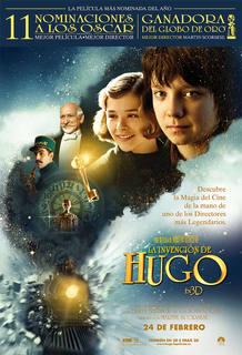 Cartel de 'La invención de Hugo', de Martin Scorsese