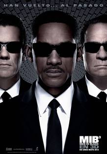Cartel de 'Men in black 3'