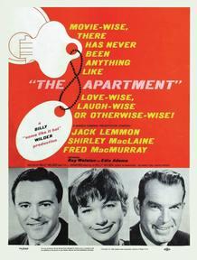 Cartel original de la película 'El apartamento'