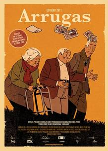 Cartel de la película 'Arrugas'