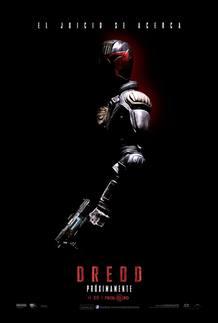 Cartel de la película 'Dredd'