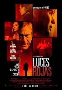 Cartel de la película 'Luces rojas', de Rodrigo Cortés