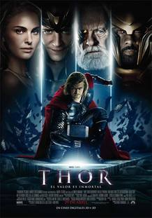 Cartel de la película 'Thor'