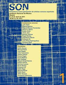 Cartel de SON, que tiene lugar los días 8 y 9 abril de 2011