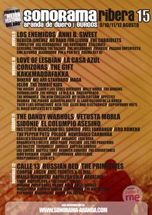 Cartel Sonorama 2012