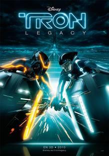 Cartel de 'Tron Legacy'