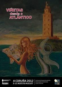 Cartel de 'Viñetas desde o Atlántico', de Kim