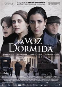 El cartel de 'La voz dormida', película de Benito Zambrano con participación de TVE