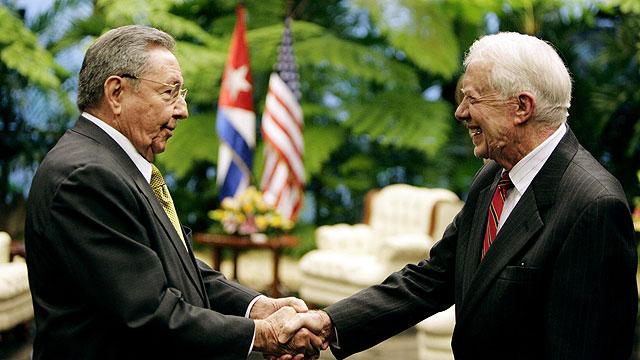 Carter se reúne con Raúl Castro en su segundo día de visita a Cuba