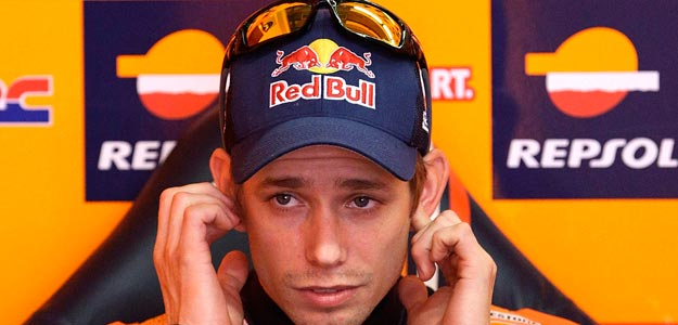 El piloto australiano de MotoGP Casey Stoner
