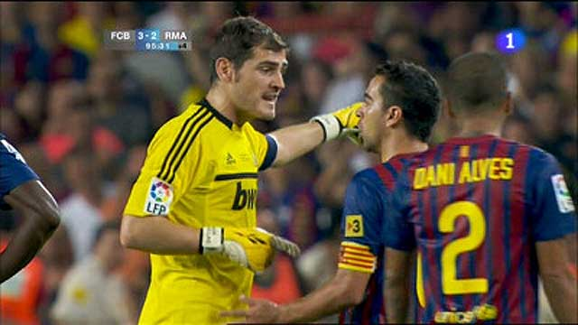 Casillas ha hablado con Xavi y Puyol