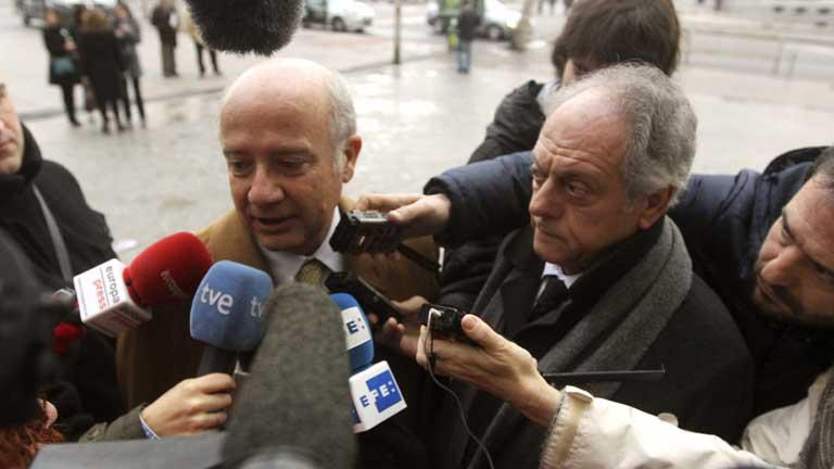 José María Flores, imputado en el caso Madrid Arena, declara ante el juez