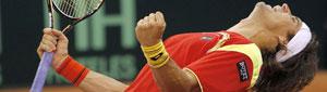 La casta de Ferrer deja la Davis a tiro de dobles