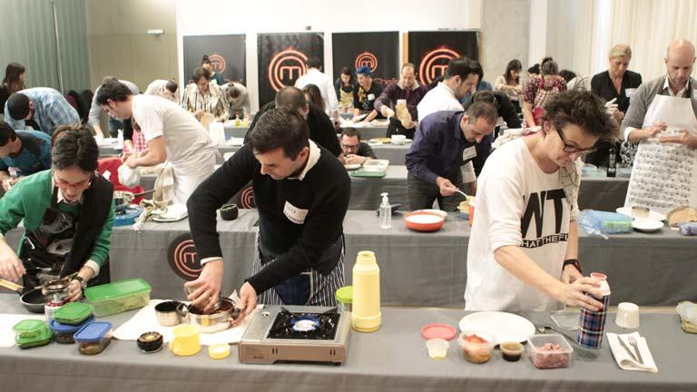 Se celebra el primer castíng para la segunda edición de Masterchef en Bilbao