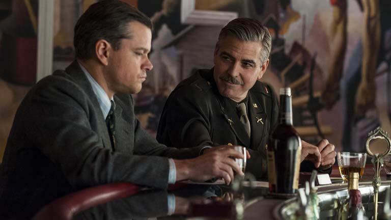 Los héroes y las heroínas de 'Monuments men': George Clooney, Cate Blanchett y Matt Damon