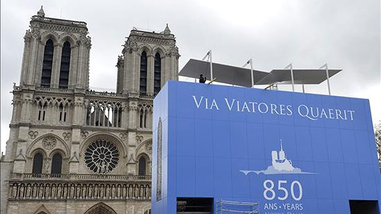 La catedral de Notre Dame cumplirá 850 años en 2013