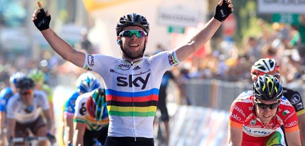 Cavendish gana la quinta etapa del Giro