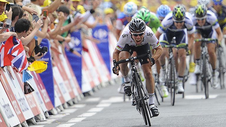 Cavendish gana su segunda etapa
