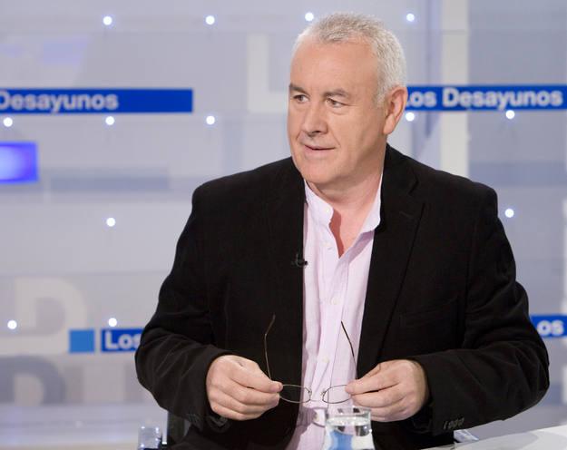 Cayo Lara, en Los Desayunos de TVE