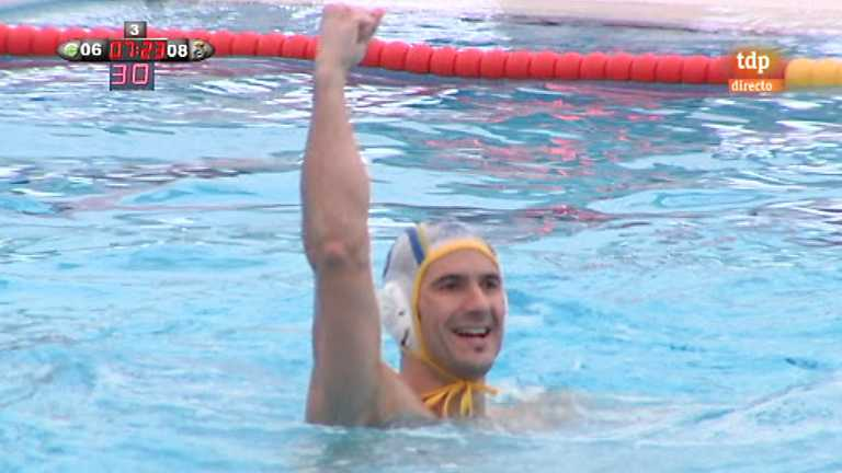 Waterpolo - Liga espa&ntilde;ola: CD Waterpolo Navarra - R. Canoe NC Isostar - 05/05/12
