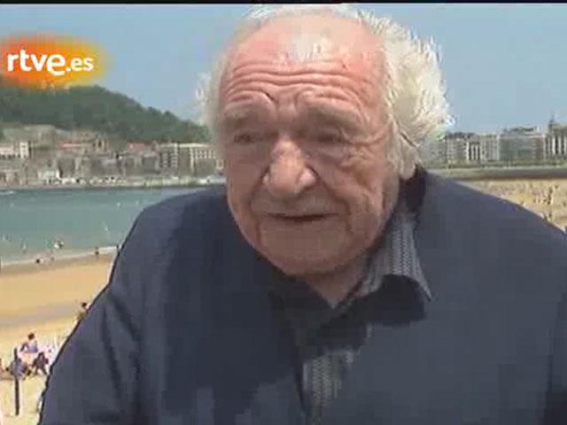 Entrevista a Gabriel Celaya en San Sebastián (1990)