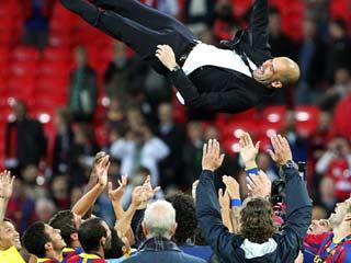 Ver v?deo  'La celebración del Barça en Wembley'