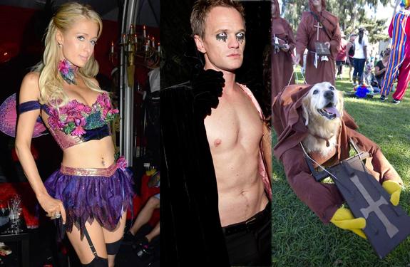 Celebrities, anónimos y mascotas se suman a la fiesta de Halloween