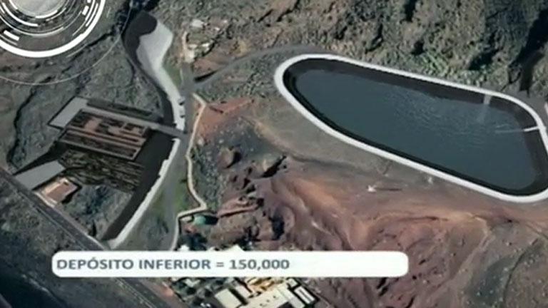 El Hierro pone en marcha una central hidroeólica pionera para la autosuficiencia energética